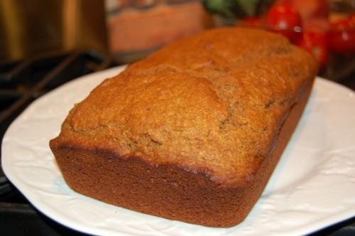 Healthy Pumpkin Bread  Whole Wheat Healthy Pumpkin Bread