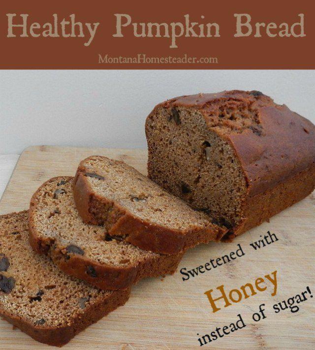 Healthy Pumpkin Bread  Best 25 Healthy pumpkin bread ideas on Pinterest