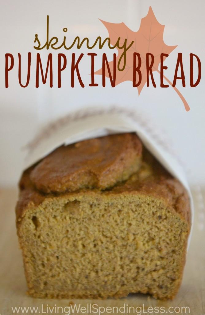 Healthy Pumpkin Bread  Skinny Pumpkin Bread
