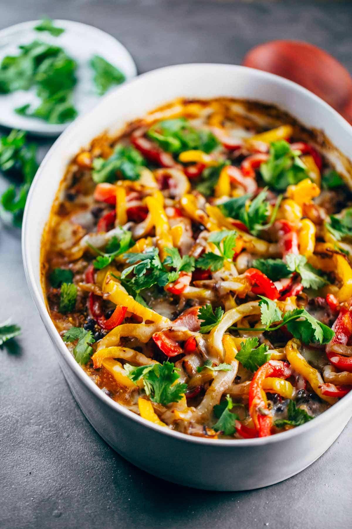 Healthy Quinoa Recipes  Easy Mexican Chicken Quinoa Casserole Recipe Pinch of Yum