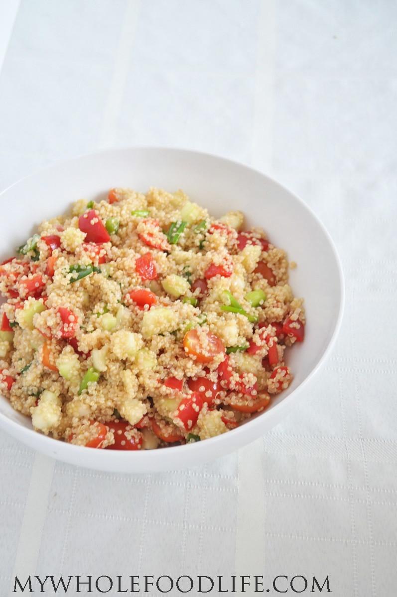 Healthy Quinoa Recipes  Healthy Quinoa Salad My Whole Food Life