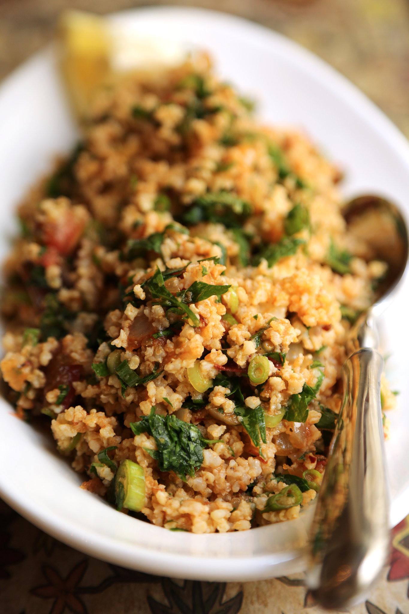 Healthy Quinoa Recipes  Fast Easy Healthy Recipe For Quinoa Tabbouleh