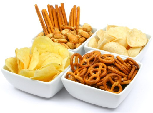 Healthy Salty Snacks  Too much Salt in your Teens = High Blood Pressure as an Adult