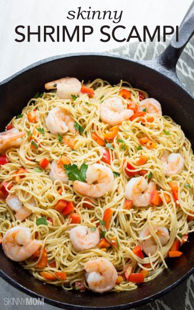 Healthy Shrimp Pasta Recipes  25 best ideas about Healthy shrimp scampi on Pinterest