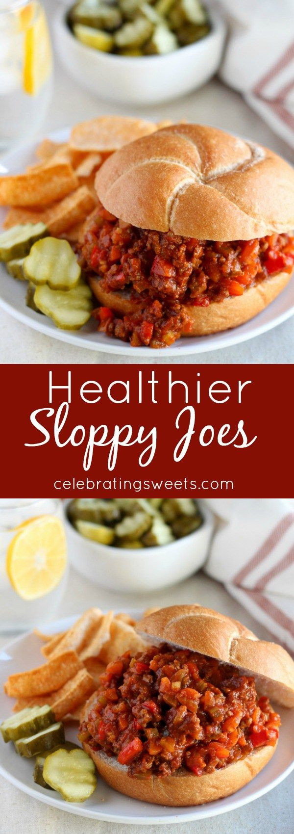 Healthy Sloppy Joes  17 Best ideas about Turkey Sloppy Joes on Pinterest