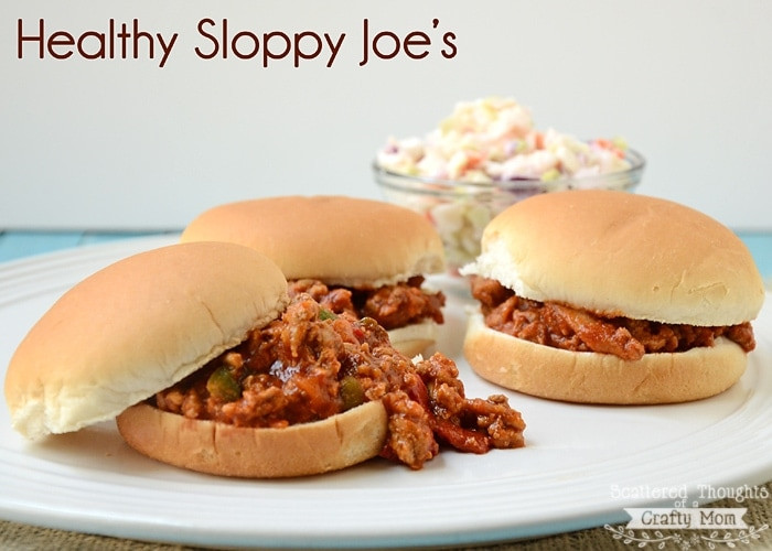 Healthy Sloppy Joes  Healthy Sloppy Joe s Scattered Thoughts of a Crafty Mom