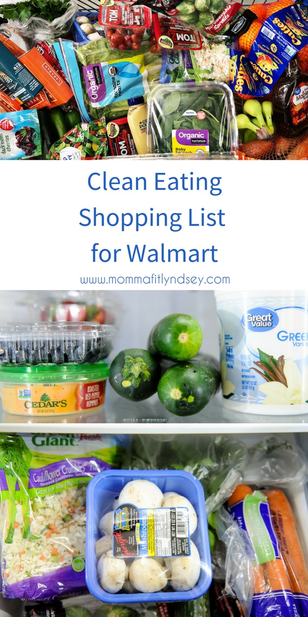 Healthy Snacks At Walmart  Healthy Walmart Shopping List for Organic and Clean Eating