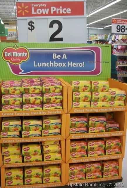 Healthy Snacks At Walmart  11 best Walmart Displays images on Pinterest