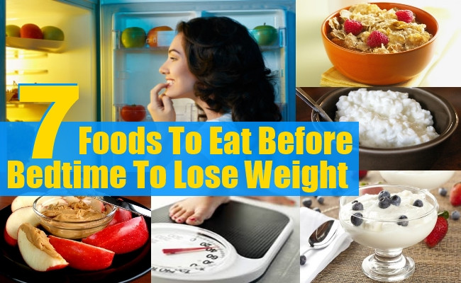 Healthy Snacks Before Bed  7 Foods To Eat Before Bedtime To Lose Weight