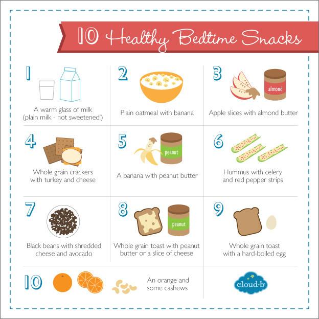 Healthy Snacks Before Bed  10 Quick & Healthy Bedtime Snacks to Help Kids Sleep