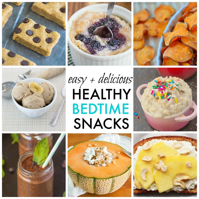 Healthy Snacks Before Bed  10 Quick Easy and Healthy Bedtime Snack Ideas