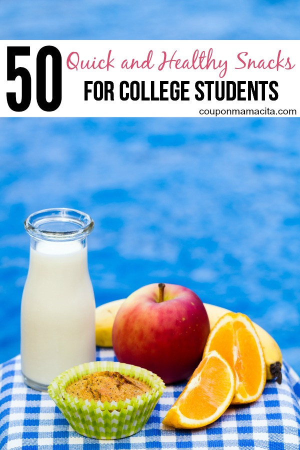 Healthy Snacks For College  50 Healthy Snack Ideas for College Students