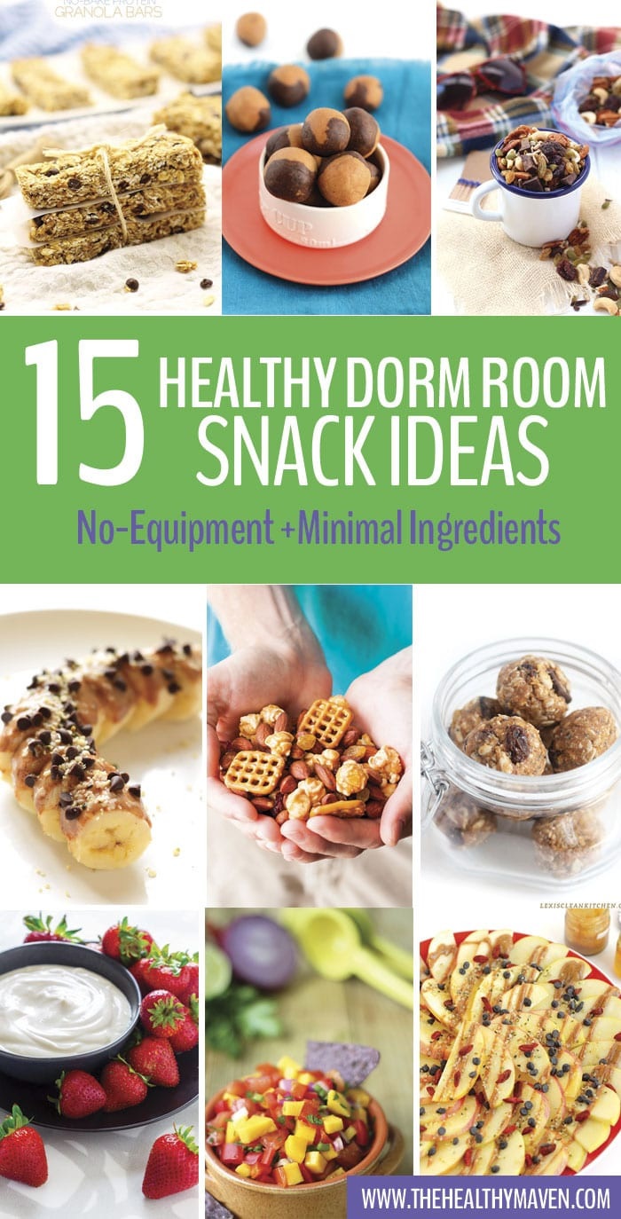 Healthy Snacks For College Students  Healthy Dorm Room Snack Ideas The Healthy Maven