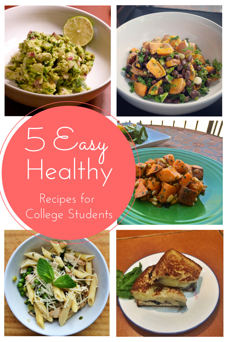 Healthy Snacks For College Students  5 Easy Healthy Recipes for Busy College Students The