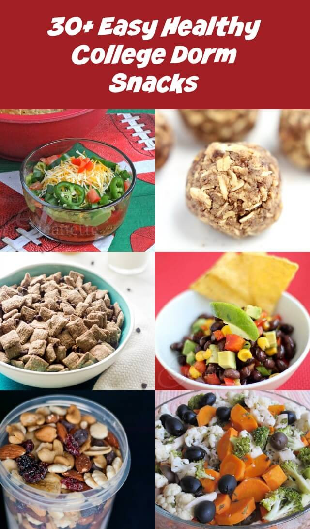 Healthy Snacks For College  Snack Recipes Snack Recipes For College Students