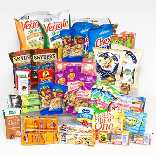 Healthy Snacks For College  Healthy Snacks Gift Box College Dorm Military Breakroom