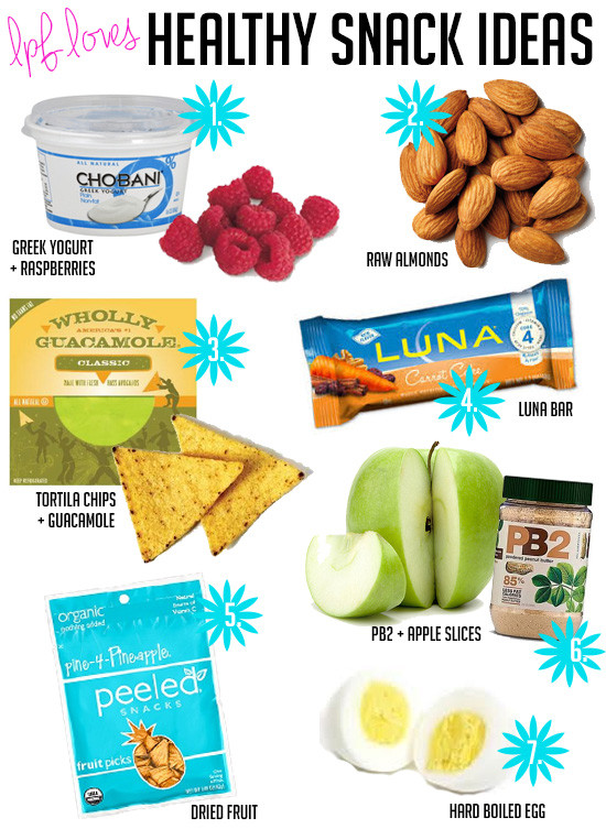 Healthy Snacks For College  La Petite Fashionista Fitness Healthy Snacks for Busy Girls