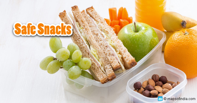 Healthy Snacks For Kids To Take To School  Healthy Snack Ideas Recipes Snacks for Kids School