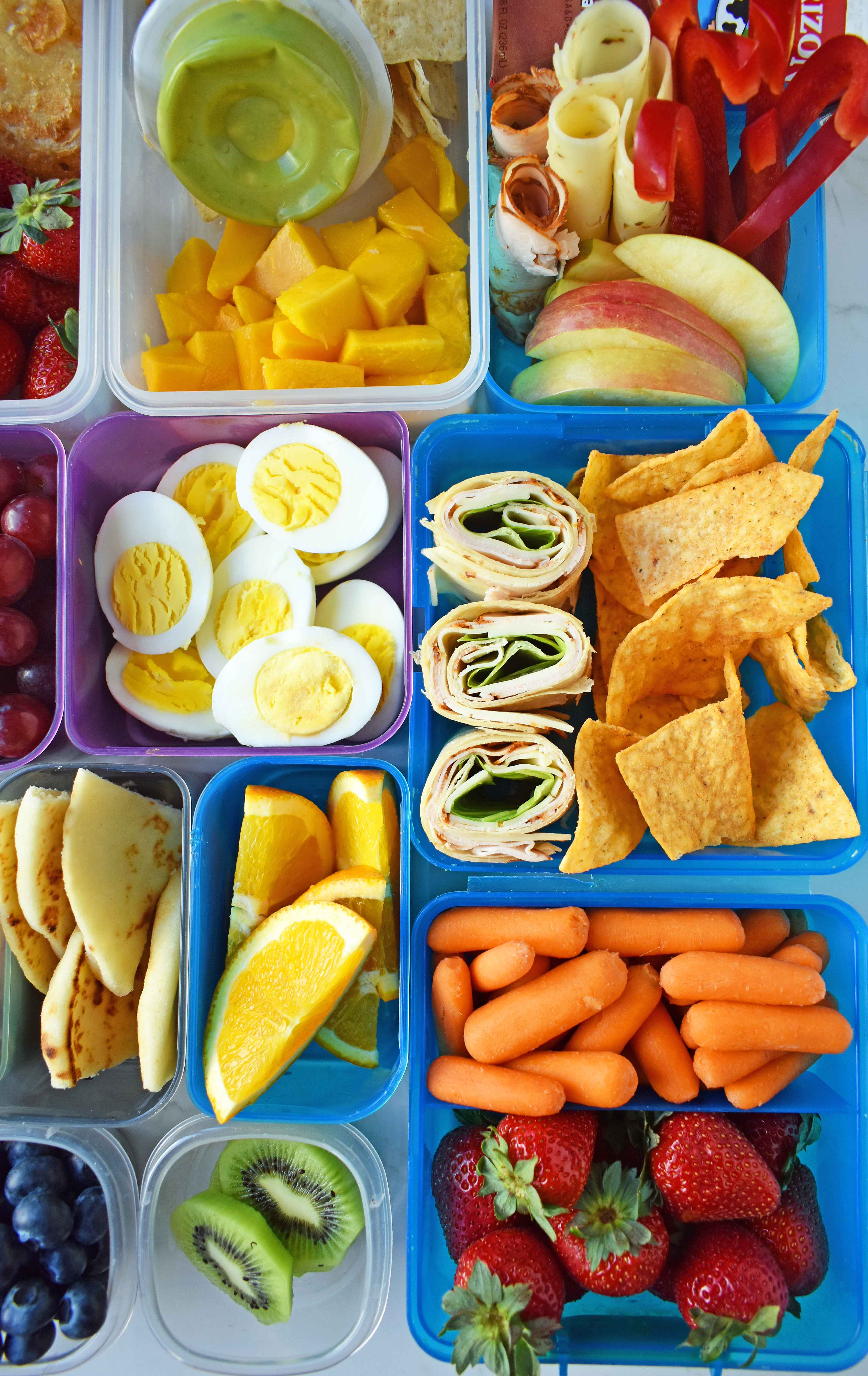 Healthy Snacks For Kids To Take To School  Back to School Kids Lunch Ideas – Modern Honey