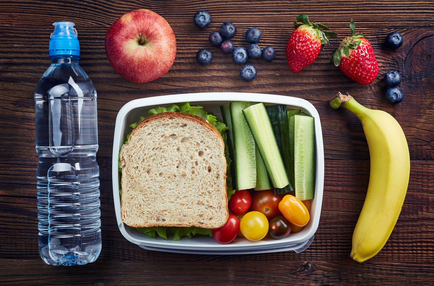 Healthy Snacks For Kids To Take To School  Ways for Parents to Improve Their Children's School