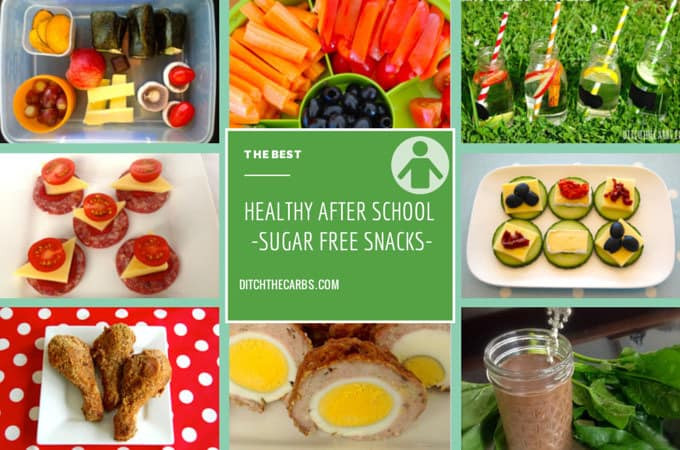 Healthy Snacks For Kids To Take To School  Healthy Sugar Free Snacks perfect for the after school