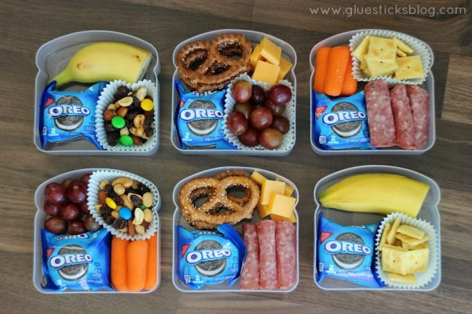 Healthy Snacks For Kids To Take To School  Use sandwich containers for snacks for the park or road
