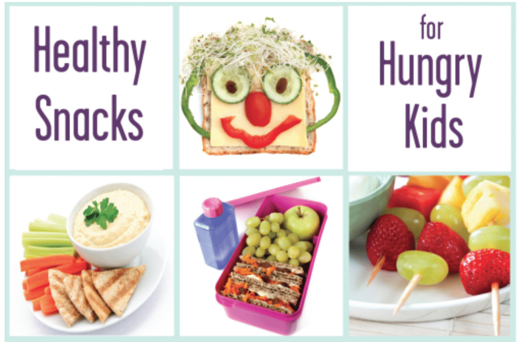 Healthy Snacks For Kids To Take To School  Healthy Snacks for Hungry Kids