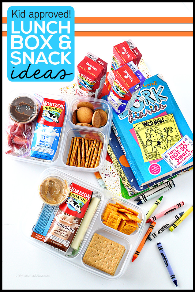 Healthy Snacks For Kids To Take To School  Simple Organization ideas It s back to school time