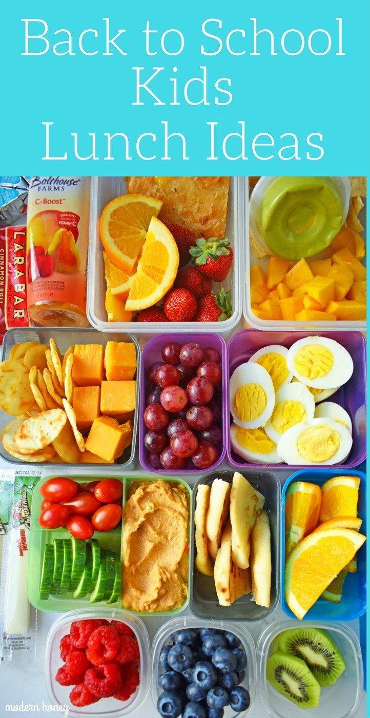 Healthy Snacks For Kids To Take To School  Back to School Kids Lunch Ideas