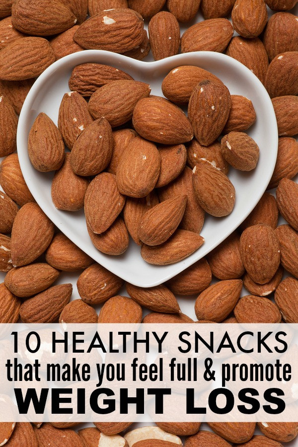 Healthy Snacks For Losing Weight  10 healthy filling snacks that promote weight loss