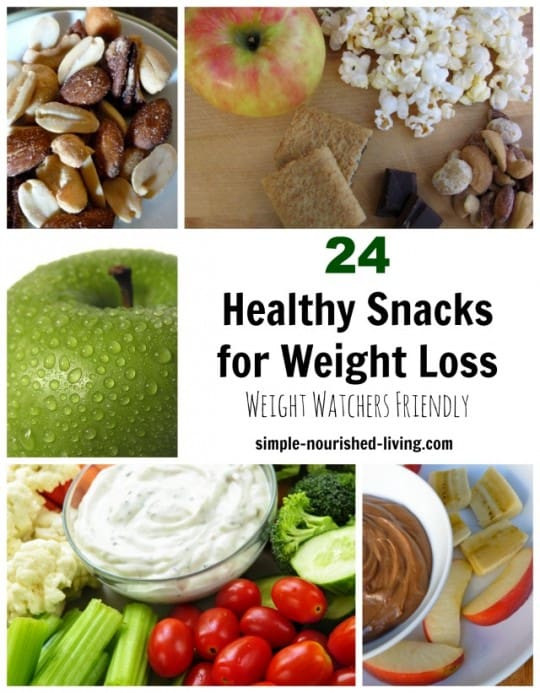 Healthy Snacks For Losing Weight  24 Healthy Snacks for Weight Watchers w Freestyle SmartPoints