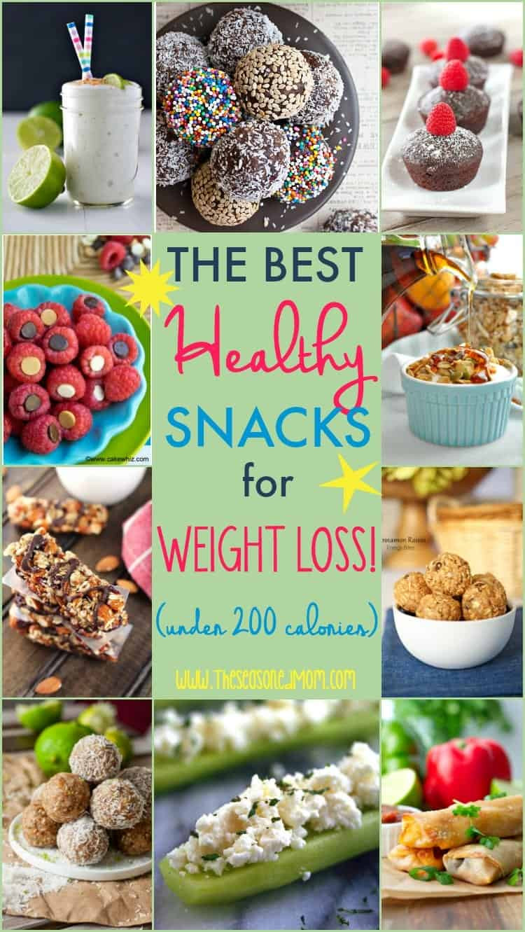 Healthy Snacks For Losing Weight  The Best Healthy Snacks for Weight Loss Under 200