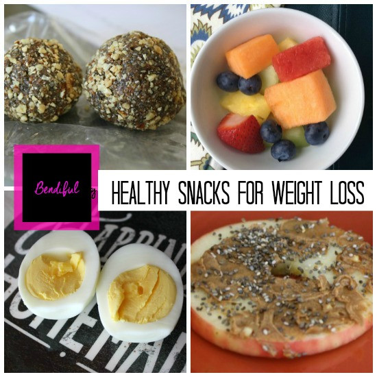 Healthy Snacks For Losing Weight  Bendiful Blog