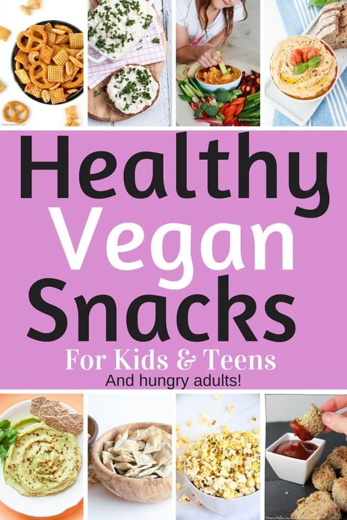 Healthy Snacks For Teens  Healthy Vegan Snacks for Kids & Teens Savory Edition