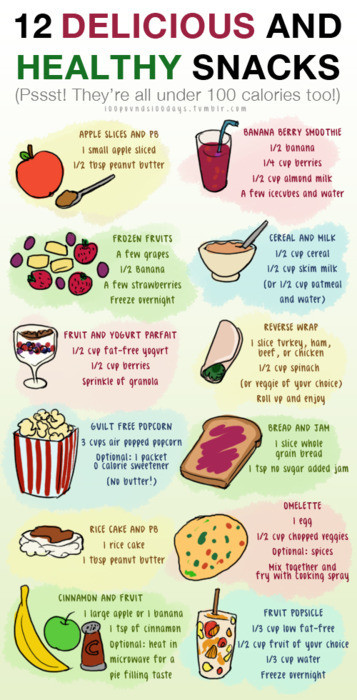 Healthy Snacks For Teens  Teen Editor How To Get Fit Before Summer