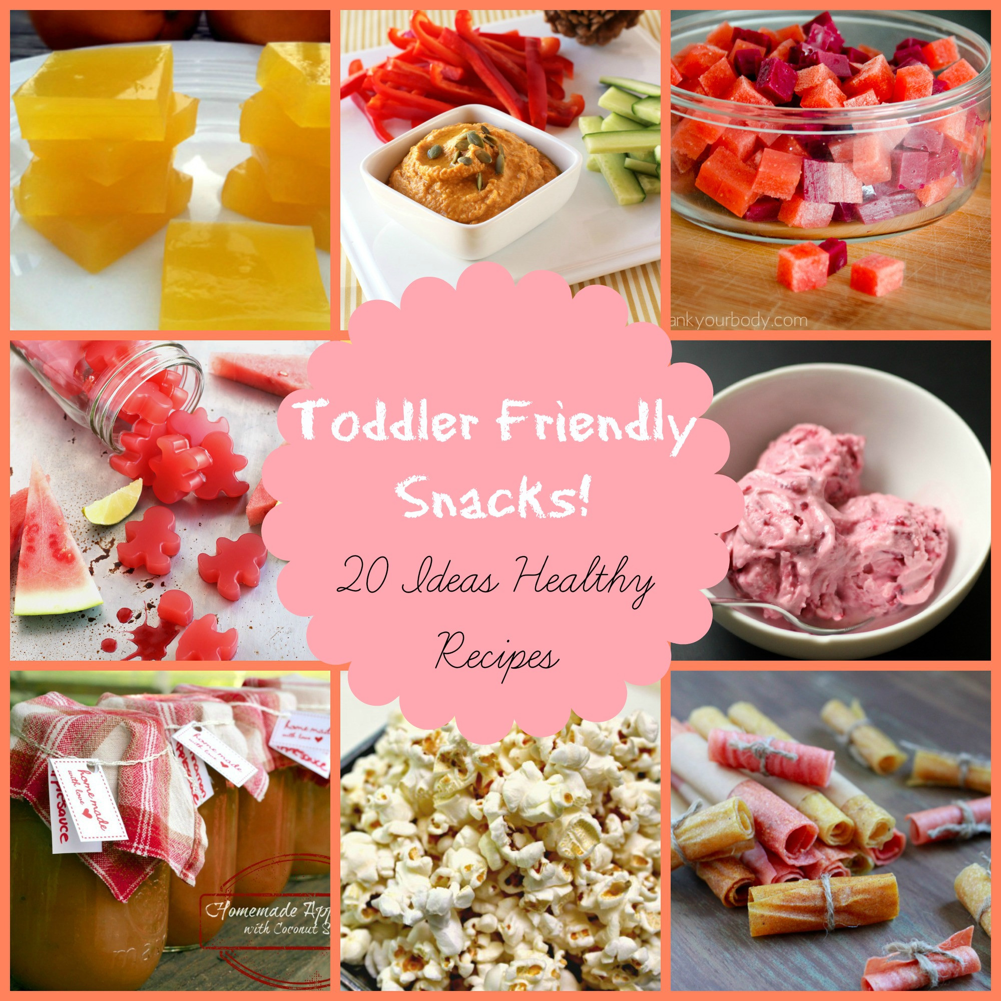 Healthy Snacks For Toddlers And Preschoolers  Healthy Snacks for Kids 20 toddler friendly ideas