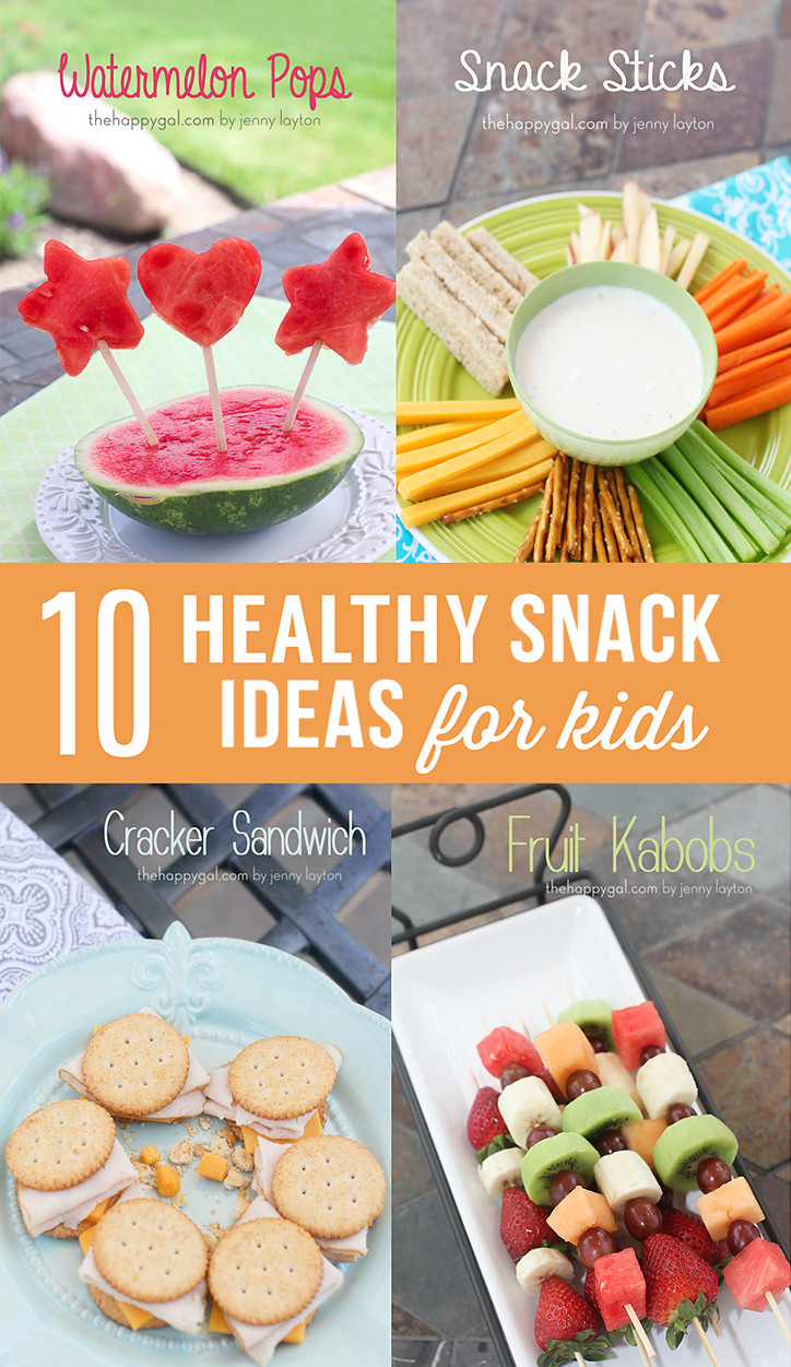 Healthy Snacks For Toddlers And Preschoolers  10 Healthy Snack Ideas for Kids