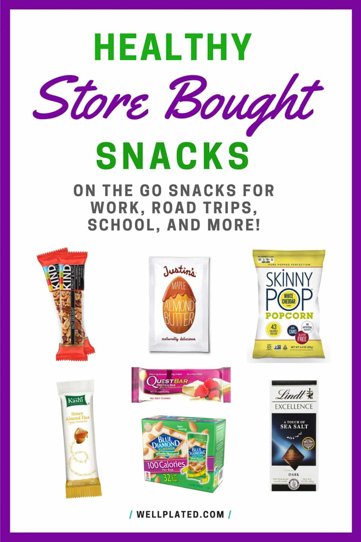 Healthy Snacks To Buy  The Best Healthy Store Bought Snacks