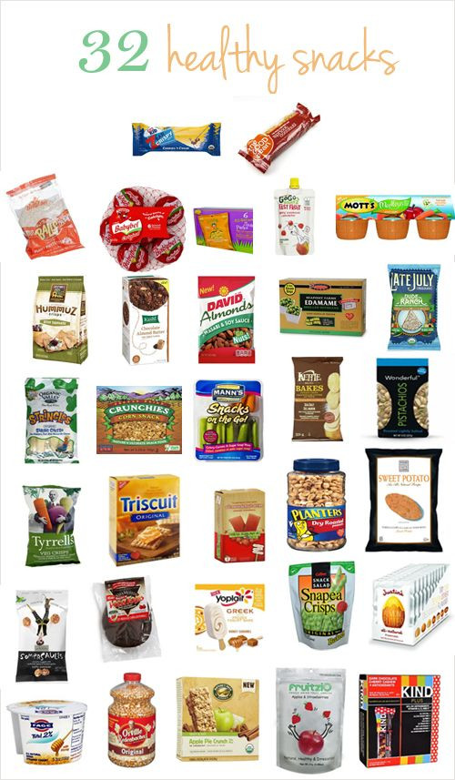 Healthy Snacks To Buy  32 healthy snacks from salty to sweet and everything in