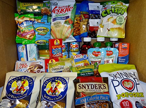 Healthy Snacks To Buy  Healthy Snacks In a box 45 Count