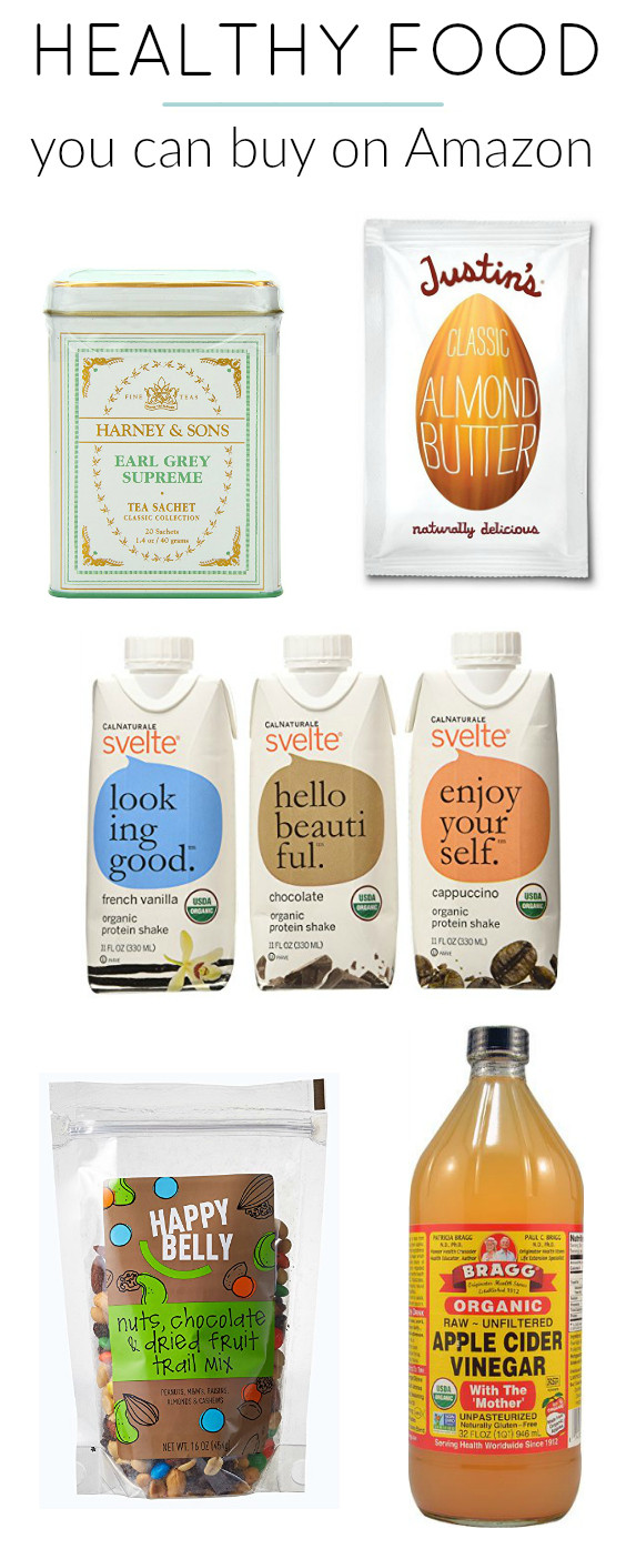 Healthy Snacks You Can Buy  7 Healthy Snacks You Can Buy on Amazon The Dumbbelle