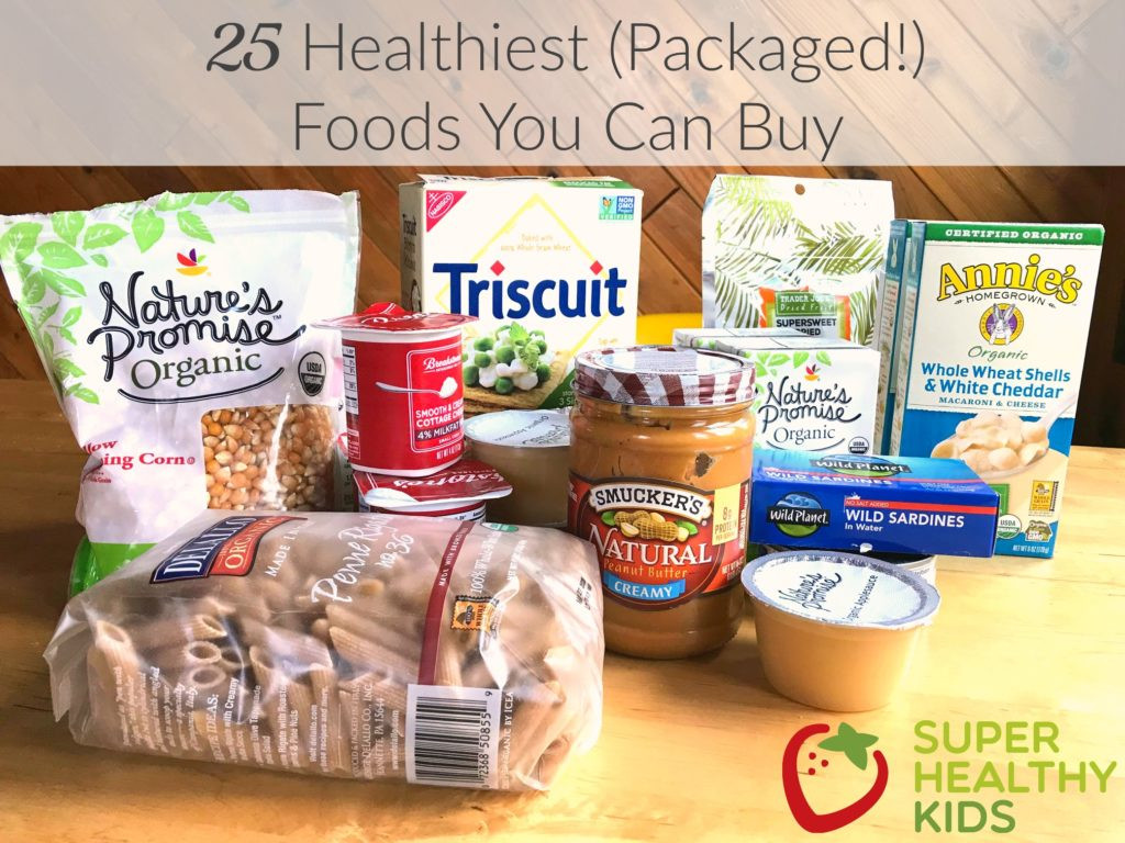 Healthy Snacks You Can Buy  25 Healthiest Packaged Foods You Can Buy