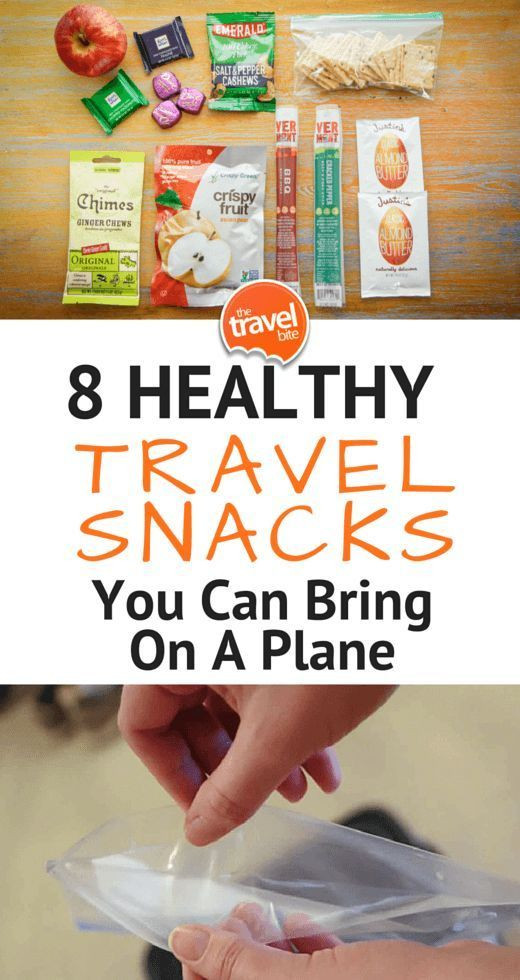 Healthy Snacks You Can Buy  8 Healthy Snacks You Can Bring A Plane Travel ike a