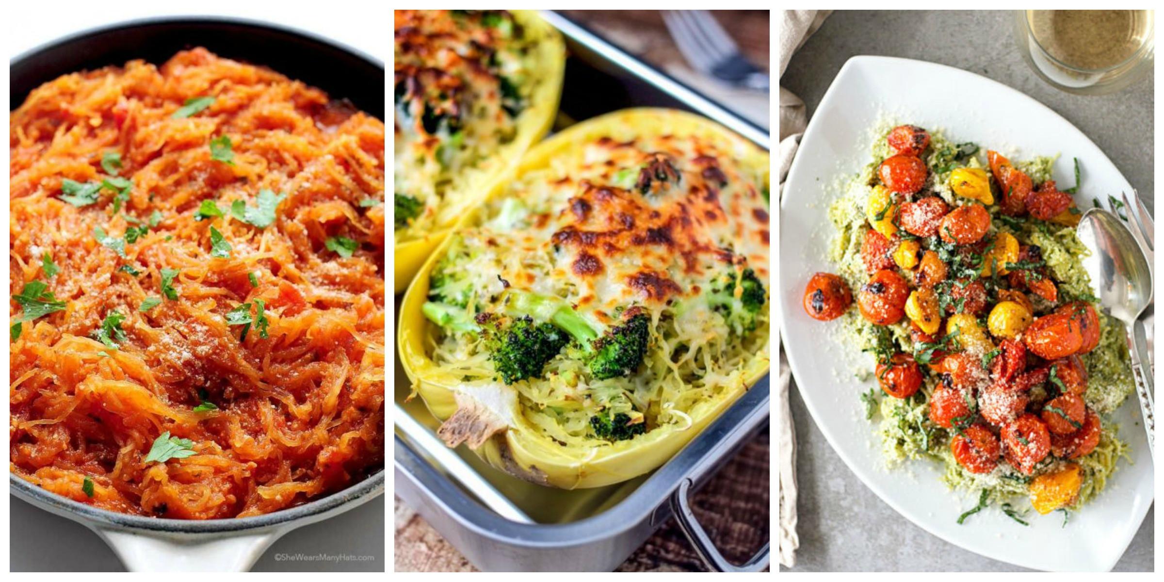 Healthy Spaghetti Squash Recipes  50 Best Healthy Spaghetti Squash Recipes How to Cook