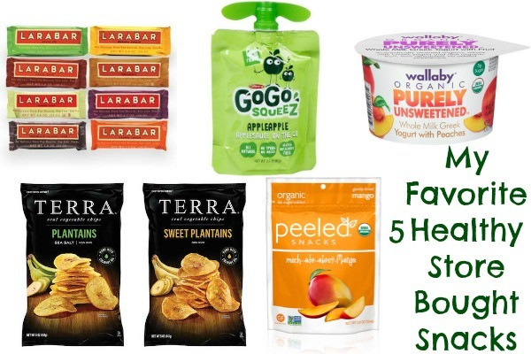 Healthy Store Bought Desserts  My Favorite 5 Healthy Store Bought Snacks