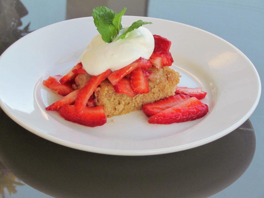 Healthy Strawberry Shortcake  Healthy Take on Strawberry Shortcake Recipe