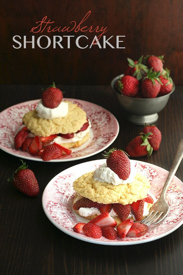 Healthy Strawberry Shortcake  10 best images about Recipes Desserts on Pinterest