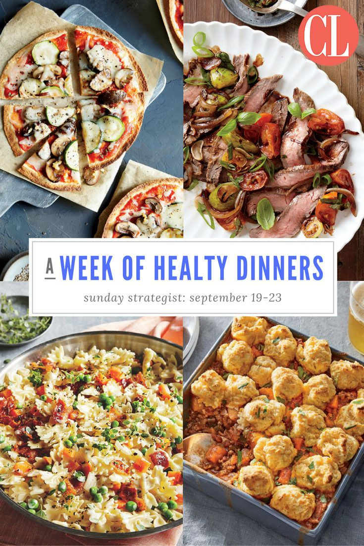 Healthy Sunday Dinner Ideas  677 best images about Healthy Dinner Ideas on Pinterest