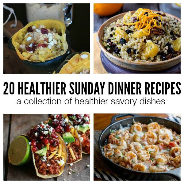 Healthy Sunday Dinner Ideas  83 best images about Sunday Dinner on Pinterest