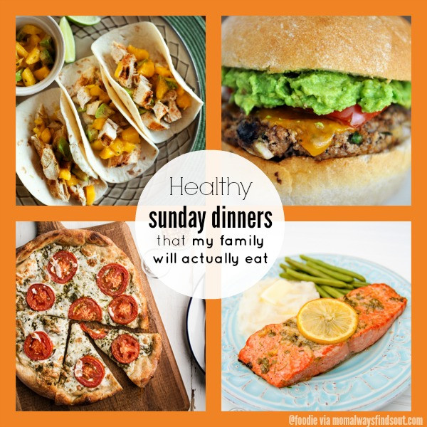 Healthy Sunday Dinner Ideas  Healthy Dinner Recipes Collection